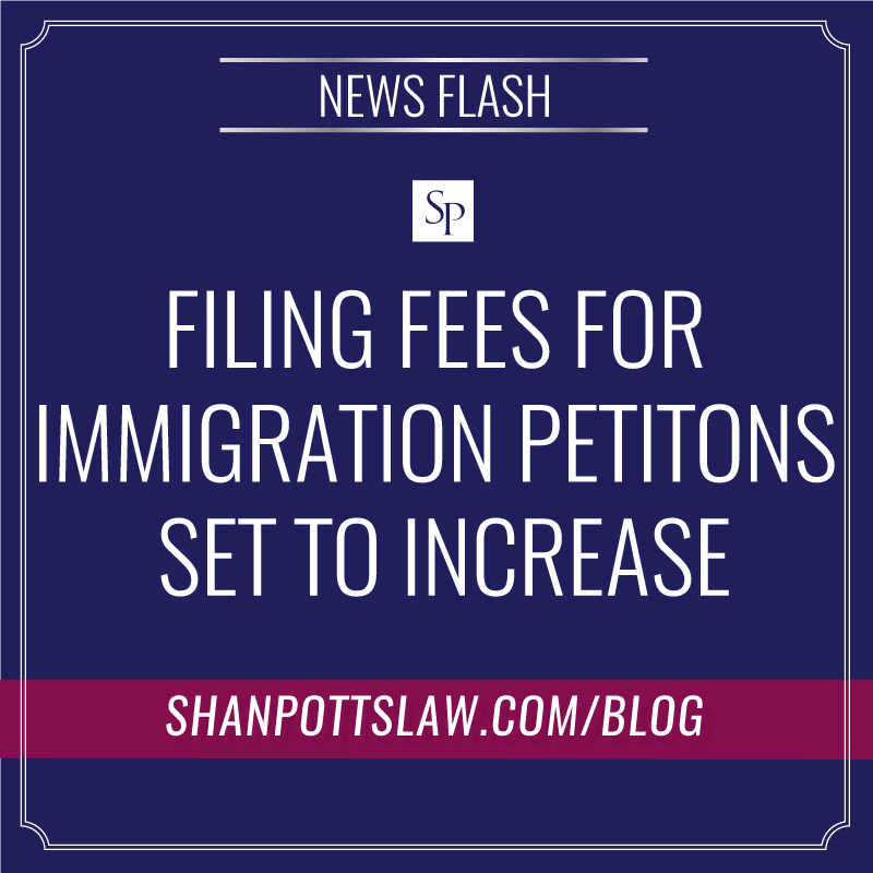 USCIS to Propose Fee Hike For Immigration Petitions